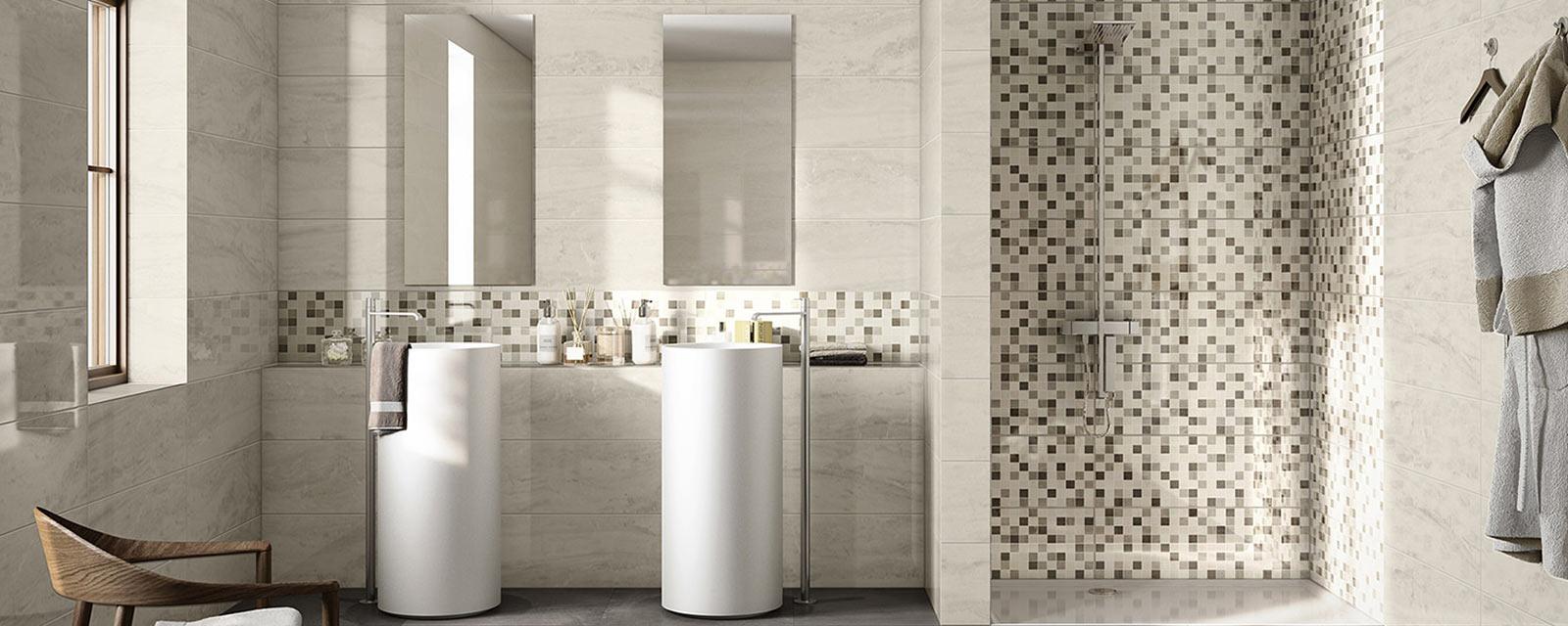 Le carrelage mosaïque dans votre douche  Guide Artisan