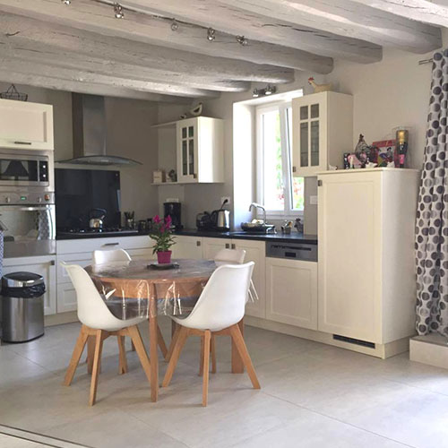 Carrelage tendance angers cheap carrelage with carrelage - Peinture couleur champagne ...